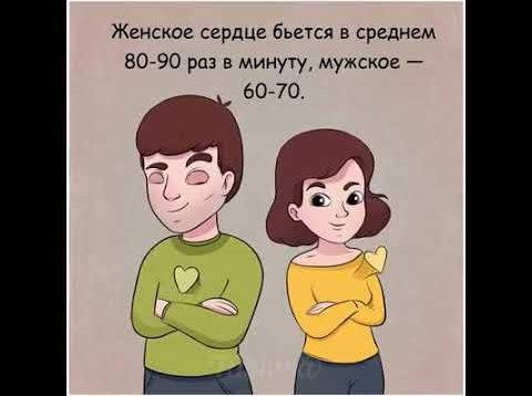 Удивительная разница между мужчинами и женщинами